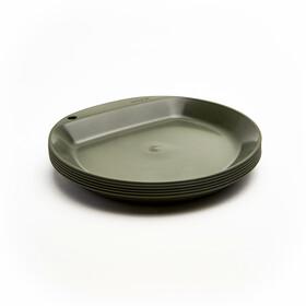 Wildo Camper Plate Flat Set Unicolor 6-Pieces, oliwkowy